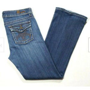 KUT FROM THE KLOTH Low Rise Bootcut Jeans 2229E1M